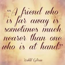 far away friendship quotes quotes love friendship a far away