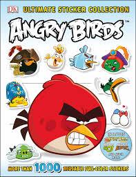 Ultimate Sticker Collection: Angry Birds - Walmart.com - Walmart.com