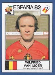 Wilfried Van Moer - Belgique-Belgie - image 210 España 82 World Cup