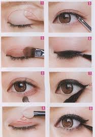 eye makeup for asian eyes via