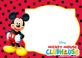 Mickey Mouse Free Printable Invitations - Cobypic.com