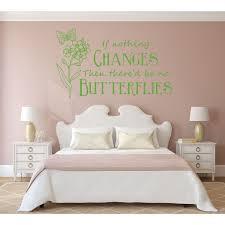 Girls Room Wall Decor Butterfly Themed Vinyl Decal Customvinyldecor Com