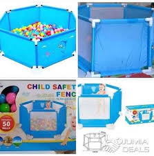 Child Safety Fence Play Pen Center With 50 Balls Cbd Jumia Deals