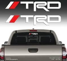 Trd Sticker Decal For Toyota Tacoma Corolla Tundra 2 Pcs Vinyl Window Laptop Ebay