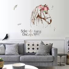 Wholesale Horse Wall Sticker Boho Chic Home Decor Animals Gypsy Spirit Wall Decal Decals For Walls Decals For Walls Quotes From Brendin 13 53 Dhgate Com
