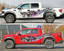 2 Pcs Graphics Vinyl Dragon Car Sticker Pickup Truck Decal Fit Ford Raptor F 150 Ebay