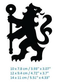 Fc Chelsea Lion Car Window Bumper Laptop Oracal Vinyl Decal Sticker Ebay