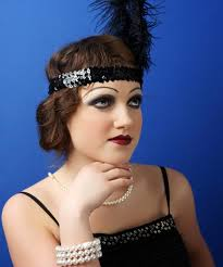 how to do 1920s hair and makeup