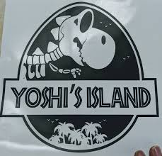 Jurassic Park Yoshi S Island Mash Up Vinyl Decal For Car Home Yeti Ftw Custom Vinyl