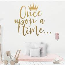 New Once Upon A Time Wall Decal Living Room Removable Mural For Kids Rooms Diy Home Decoration Home Party Decor Wallpaper Art Decals Art Decals For Walls From Stunning88 23 29 Dhgate Com