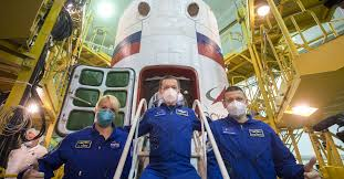 NASA astronauts to launch Russian rockets as US transitions to civilian  spacecraft