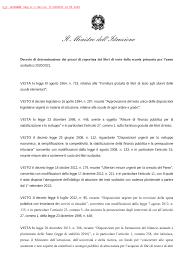 Decreto Ministeriale n. 2 del 13 maggio 2020 - Miur