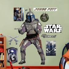 Shop Fathead Star Wars Jango Fett Wall Decals Overstock 9601372