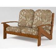 moveis bambu e rattan sofa cirebon 2 lugares cor marrom com ...