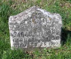 Sarah Elizabeth Stivers (Gibson) (1836 - 1910) - Genealogy
