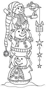 Pin Van Annet Kok Op Winter Kleurplaten Kerst Kunst Digi Stempels