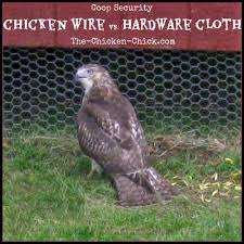 Coop Security Hardware Cloth Vs Chicken Wire The Chicken Chick