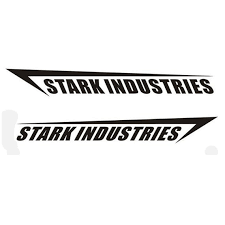 Stark Industries Logo Set Vinyl Decal Wall Art Etsy