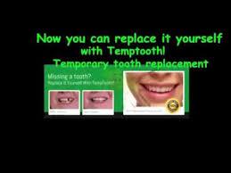 how to make a tooth bridge temptooth