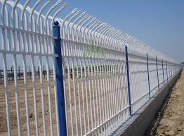 Bent Top Fence Post 65 65mm Popular Surface Hot Dipped Galvanized Powder Coating Other Size Are Available Steel Fence Fence Palisade Fence