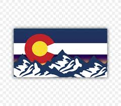 Flag Of Colorado Car Bumper Sticker Png 720x720px Colorado Bumper Sticker Car Decal Envelope Download Free