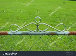 Chainlink Fence Hardware Stock Photo Edit Now 150152138