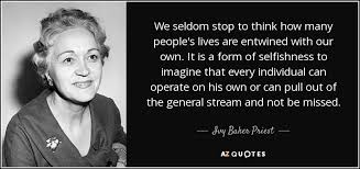 TOP 8 QUOTES BY IVY BAKER PRIEST | A-Z Quotes