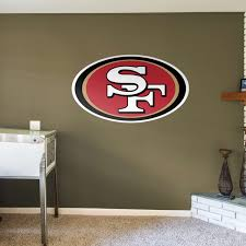 San Francisco 49ers Sf Large Decal Sticker 12 X 7