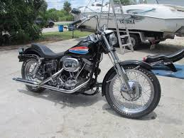 1972 harley fx midnight express the