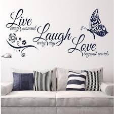 Wall Art Live Laugh Love Wall Decals Pvc Vinyl Wall Decal Poshmark