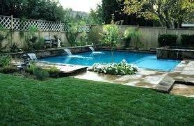 landscaping ideas above ground pool