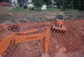 4 X 100 Safety Fence Tenax Sentry Hd Heavy Duty Construction Plastic Barrier Ebay