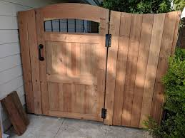 New Redwood Fence Gate Woodworking