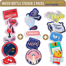 Amazon Com Vsco Stickers For Water Bottles 15 Pack Funny Waterproof Vinyl Decal Stickers Gifts For Teens Girls Women For Hydro Flask Tumbler Yeti Waterbottle Laptop Phone Computer Mac Book Skateboard Car