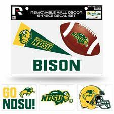 North Dakota State Bison Ncaa Decals For Sale Ebay