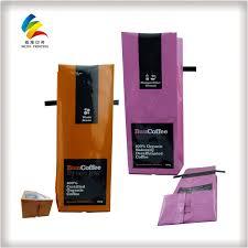 design printing kraft paper coffee bags