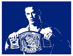 John Cena Wwe Wrestling Vinyl Wall Sticker Decal