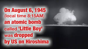 Today in history: US carries out nuclear bombings in Japan ...