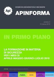 Apinforma n. 5/2019 by Confapi FVG - issuu