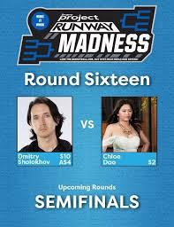 Quarterfinals: Dmitry Sholokhov v. Chloe Dao : ProjectRunway
