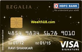 hdfc bank regalia credit card review