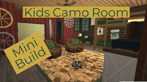 Kids Camo Room Bloxburg Roblox Youtube