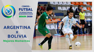 Argentina 5-0 Bolivia l Futsal Eliminatorias 2020 - YouTube