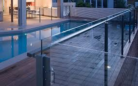 Semi Frameless Post Replacement Pool Fence Repairs Gold Coast