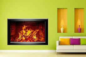 Fireplace Decorative Wall Stickers Mural Decal Home Living Dining Room Decor N1 Ebay