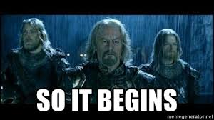 So it Begins - LOTR Helms Deep | Meme Generator