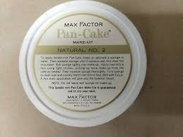 max factor pancake pan cake foundation