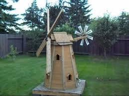 woodworking plans for garden windmills