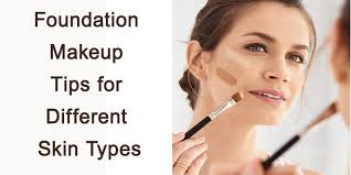 makeup tips for diffe skin types