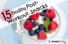 15 healthy post workout snacks